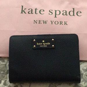 """Kate Spade Wallet """"Grove street Tellie"""" Dark Navy"""